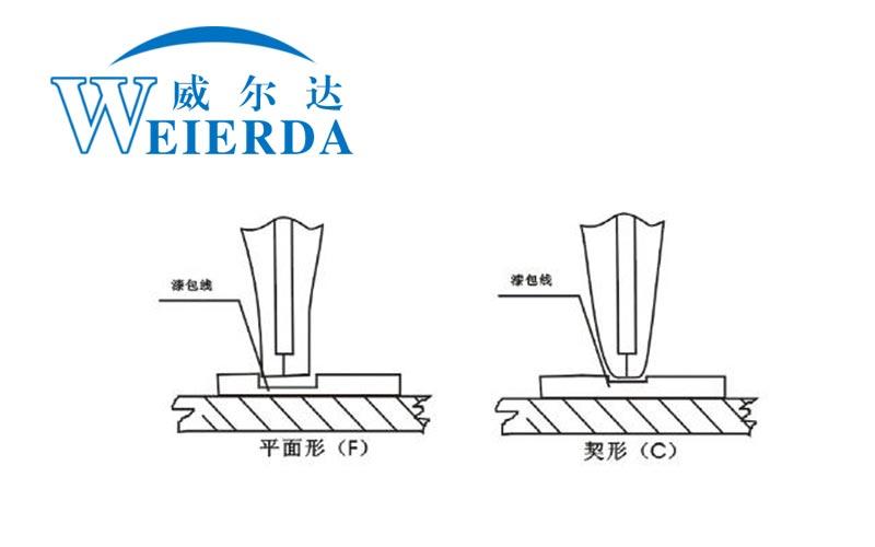 漆包线点焊机焊头结构图