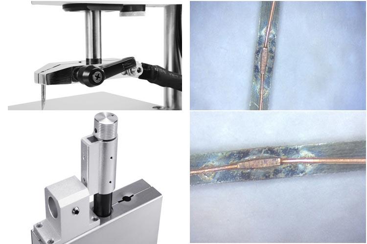 漆包线点焊机细节图