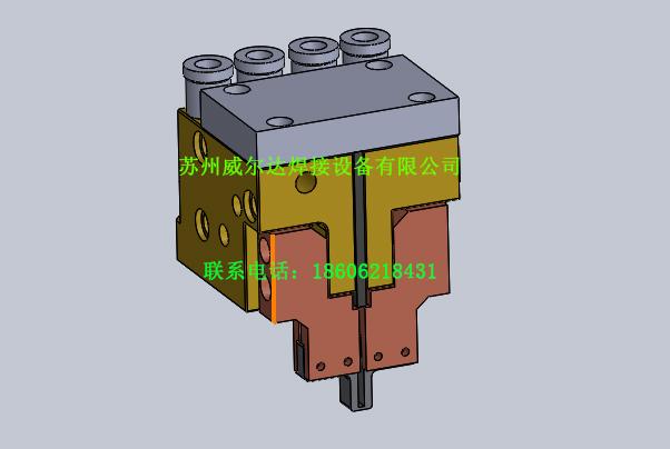精密水冷脉冲热压焊焊头装置