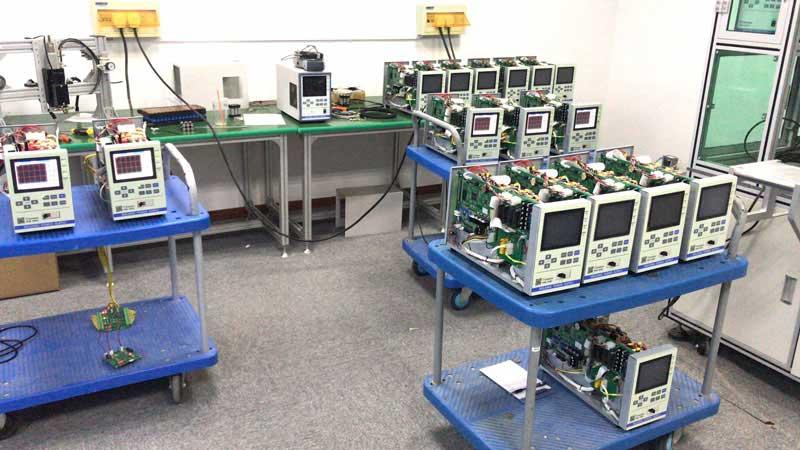 焊接电源PIW-400C测试现场