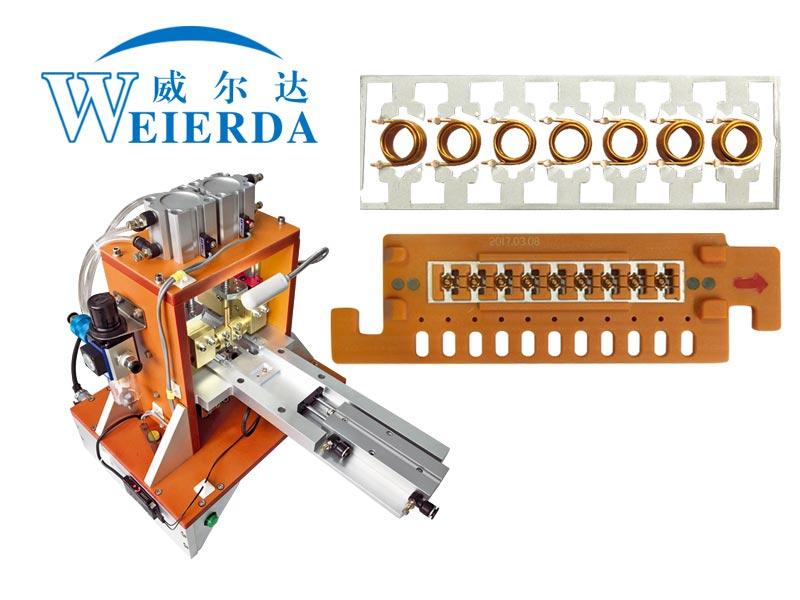 电感空心线圈焊接专机