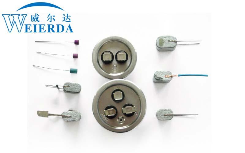 薄膜电容器点焊样品